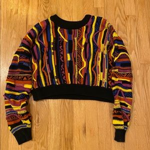 Coogie style cropped sweater